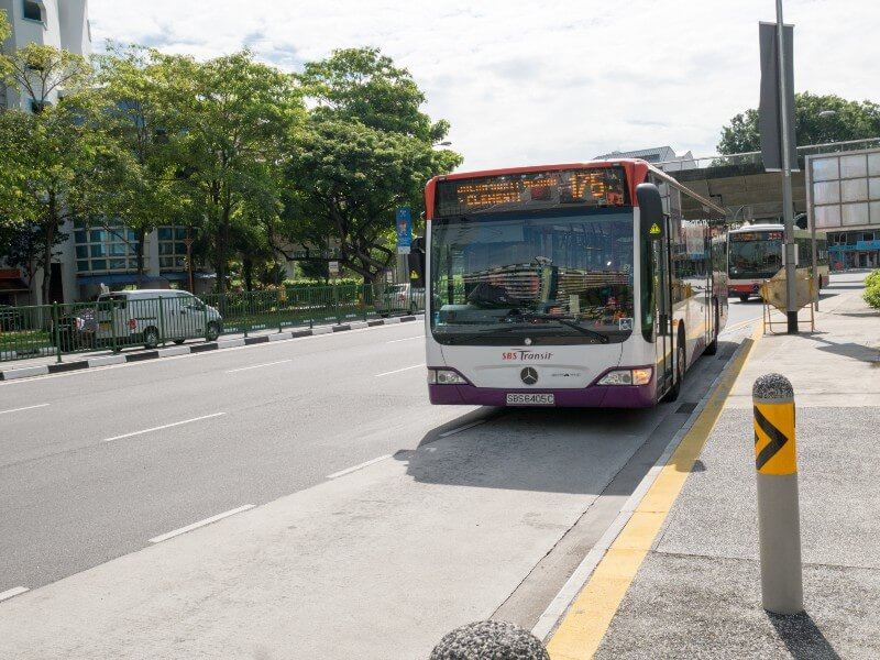 Buses in Singapore — public transport