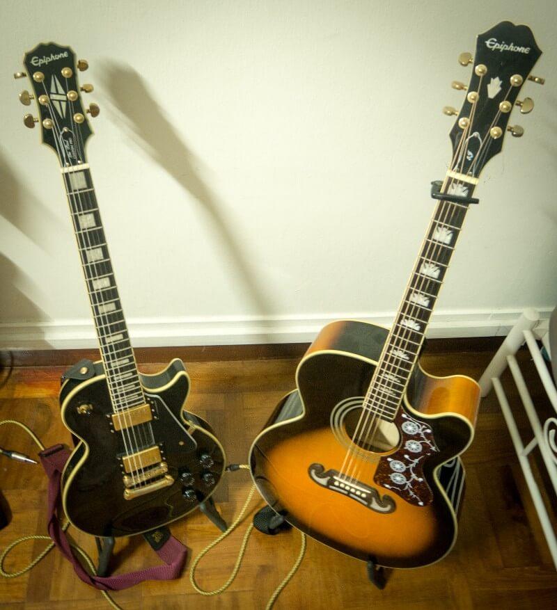 Ejay's guitars