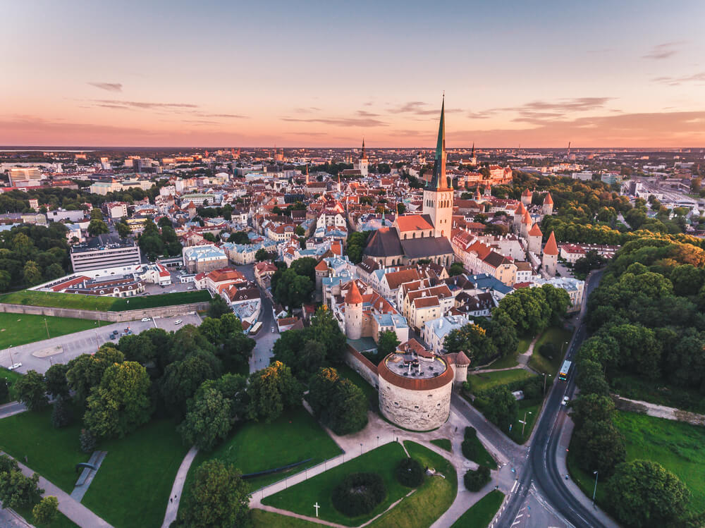 Old Town of Tallinn — relocation to Estonia
