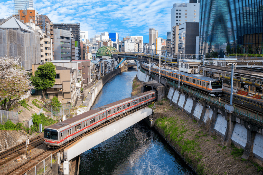 Public transport in Tokyo