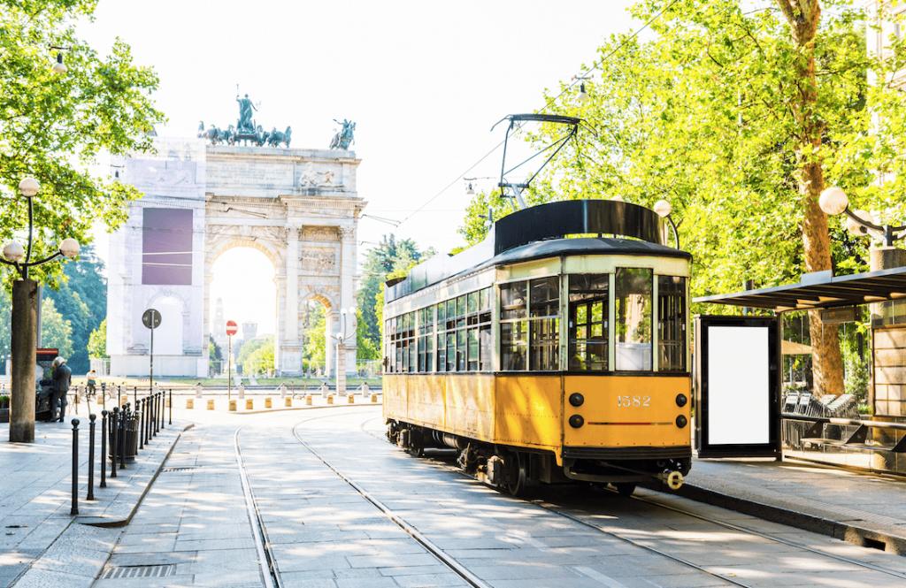 Public transport in Milan